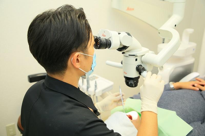 むし歯の治療でマイクロスコープを使用するメリット
